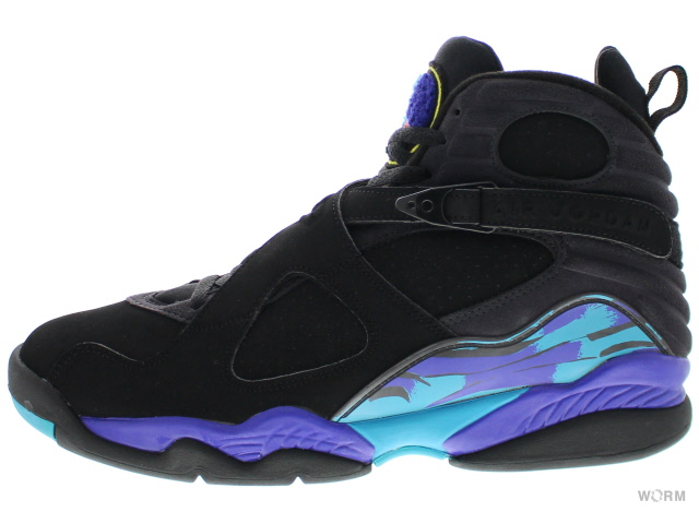 "ff03bd0c976 ""AQUA"" AIR JORDAN 8 RETRO 305381-041 black/bright concord- ..."