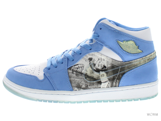 new style 3bfb4 1c49f 1 316,269-142 AIR JORDAN RETRO ALPHA white university blue Air Jordan 1-free  article