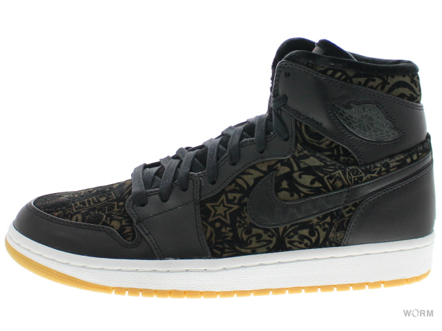 AIR JORDAN 1 RETRO HI PREMIER 332134-061 black/varsity red-white エア ジョーダン 1 未使用品【中古】