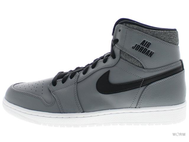 size 40 d0560 038ff AIR JORDAN 1 RETRO HIGH 332550-014 cool grey white-black-white Air Jordan 1  unread items