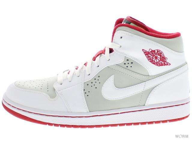 more photos a30a8 cc3f9 AIR JORDAN 1 RETRO HARE JORDAN 374454-011 light silver/white-true red Air  Jordan 1 unread items