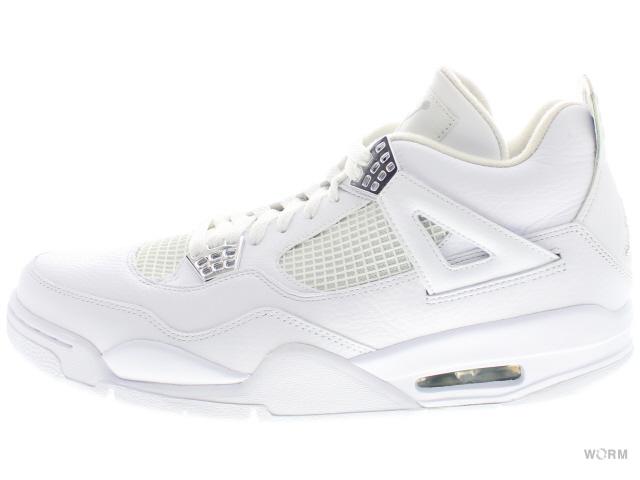 promo code b4d26 75b35 AIR JORDAN 4 RETRO 408202-101 white metallic silver Air Jordan 4 unread  items