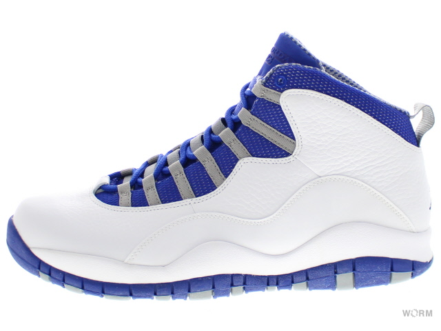 257ee209ea2 AIR JORDAN 10 RETRO TXT 487214-107 white/old royal-stealth Air Jordan ...
