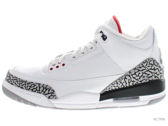 4ddbb0e46ee AIR JORDAN 3 RETRO   88 580775-160 white fire red-cmnt grey-blck Air Jordan  3 unread items