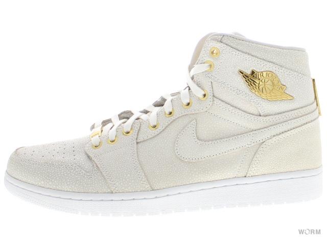 new style c99c4 8768c AIR JORDAN 1 PINNACLE 705075-130 white metallic gold Air Jordan 1 Pinnacle  unread items
