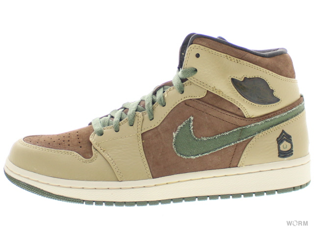 AIR JORDAN 1 RETRO 325514-231 mdm brown/urbn hz-hy-anthrct エア ジョーダン 1 未使用品【中古】