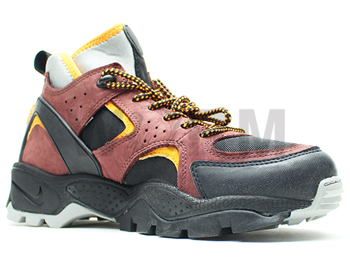 "NIKE AIR MOWABB ""2002"" 305306-081 black/shock orange-team brown air mowab unread items"