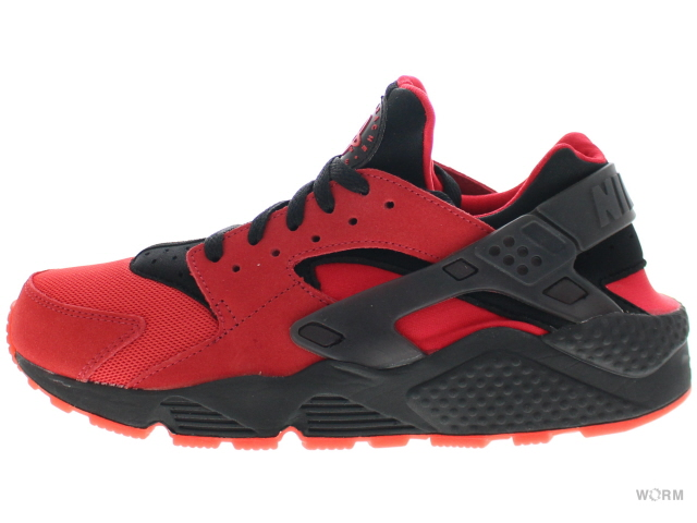 pretty nice d073d 96863 NIKE AIR HUARACHE QS 700,878-600 university red black エアハラチ-free article