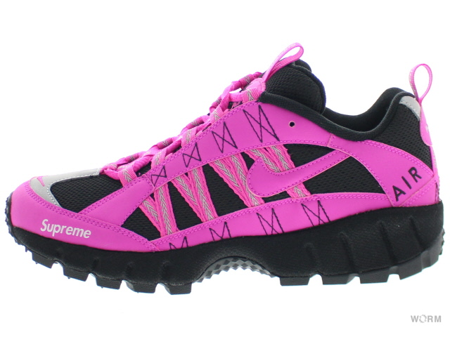 NIKE AIR HUMARA '17 / SUPREME 924464-600 fire pink/fire pink-black エア フマラ シュプリーム 未使用品【中古】
