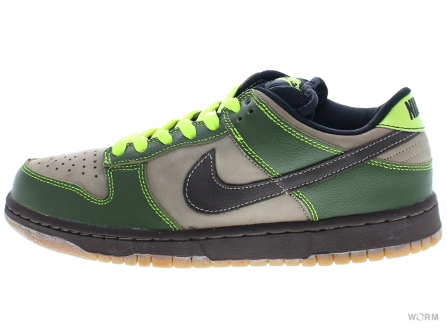 separation shoes 5eda4 8d47f ... netherlands nike sb dunk low pro sb jedi gold rail 304292 222 khaki  baroque brown safari