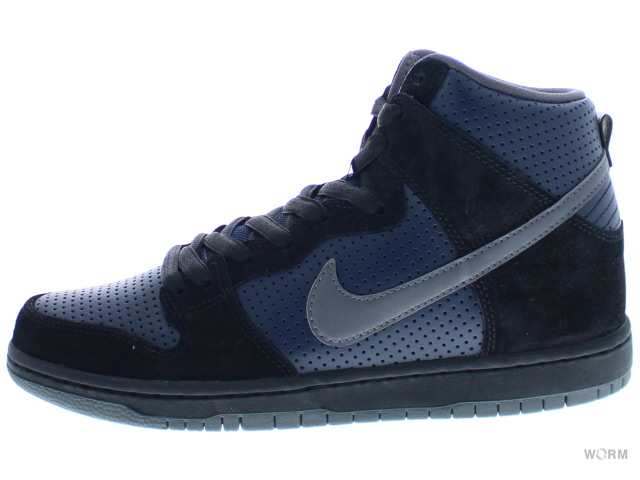 NIKE SB DUNK HIGH TRD QS 881758-001 black/lt graphite-obsidian ナイキ ダンク 未使用品【中古】
