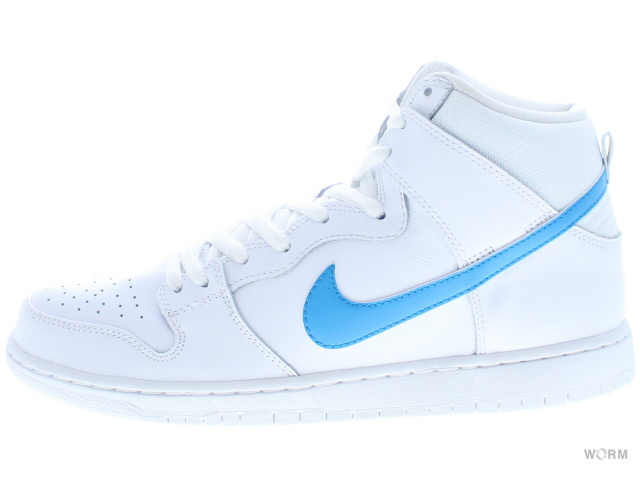 NIKE SB DUNK HIGH TRD QS 881758-141 white/orion blue-white-white ナイキ ダンク 未使用品【中古】