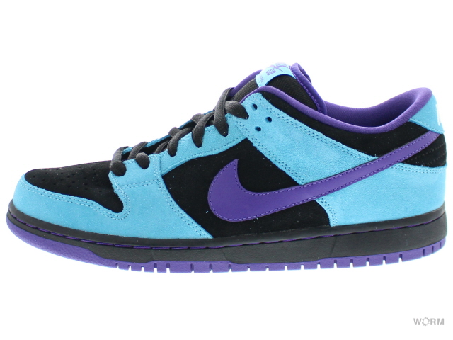4e90440c9cc2 ... top quality nike sb dunk low pro sb skeletor gold rail 304292 020 black  varsity purple