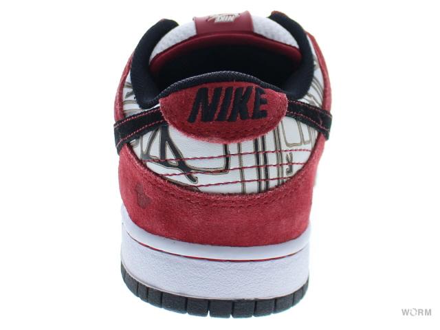 brand new df76f c0a42 NIKE SB DUNK SB EMB PRO 315355-101 whtblk-varsity red (fabio c.) Nike Dunk  unread items