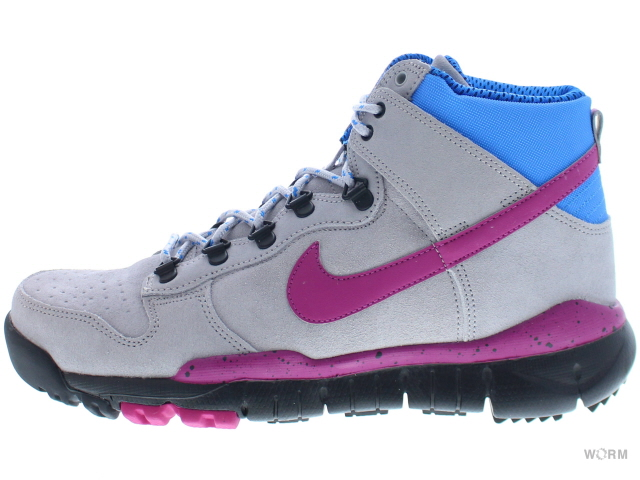 huge discount dae70 9894d NIKE SB DUNK HIGH OMS PRM 576611-064 wolf grey/rave pink-photo blue Nike  Dunk unread items