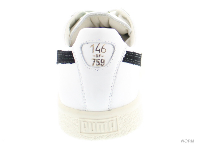 "PUMA CLYDE AWAY""made in ITALY""363465-01 puma white-black-puma white彪馬克萊德意大利製造未使用的物品"