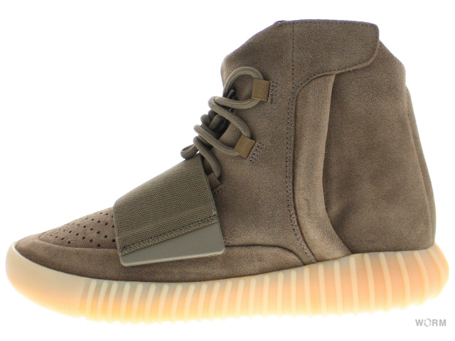 【24cm】adidas YEEZY BOOST 750 by 2456 lbrown/lbrown/gum3 アディダス イージー ブースト 未使用品【中古】