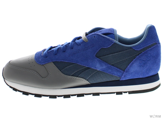 【US11】Reebok CL LTHR R12 v54166 ultramrine/navy/grey リーボック 未使用品【中古】