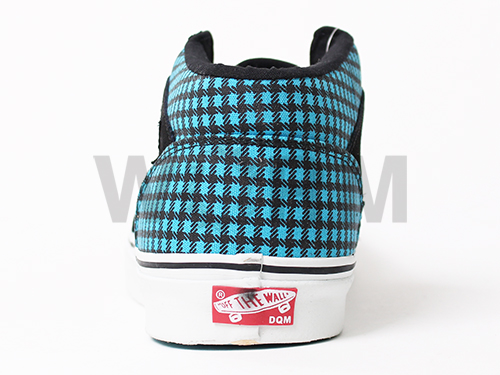 """VANS VAULT HALF CAB LX """"DQM"""" (dqm) black/cyan blue vans half cab Volt unread items"""