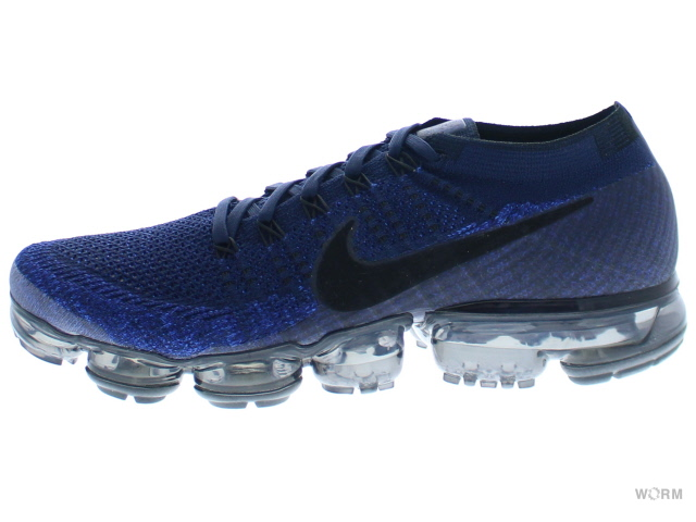 buy popular e578f e06ea NIKE AIR VAPORMAX FLYKNIT 849,558-400 college navy/black-game royal air  newspaper max fried food knit-free article