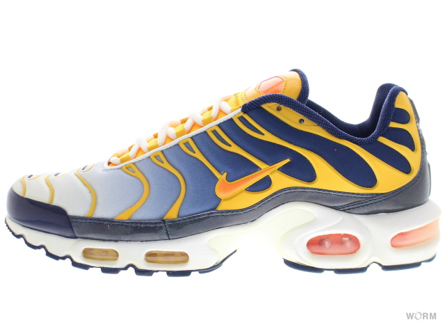 NIKE AIR MAX PLUS 306,696-481 midnight navy/trt-pr gld-white Air Max plus-free article