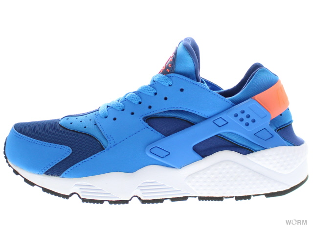 【US10.5】NIKE AIR HUARACHE 318429-402 gym blue/pht bl-brght mng-wht エア ハラチ 未使用品【中古】