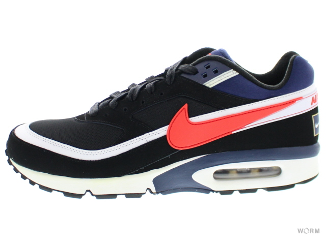 buy online ef430 4f3ec NIKE AIR MAX BW PREMIUM 819,523-064 black crimson-midnight navy Air Max big  wind-free article