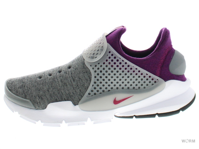 cheaper cface 9652d NIKE SOCK DART TECH FLEECE 834,669-006 grey heather/cool grey-mlbrry  ソックダート-free article