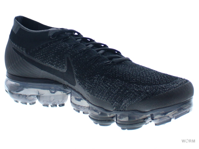 new styles c0794 c07fa NIKE AIR VAPORMAX FLYKNIT 849,558-007 black anthracite-dark grey air vapor  max fried food knit-free article