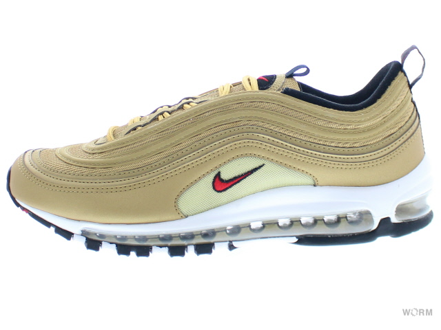 NIKE AIR MAX 97 OG QS 884421-700 metallic gold/varsity red エア マックス 未使用品【中古】