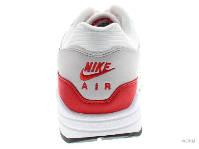 NIKE AIR MAX 1 ANNIVERSARY 908375-100 white/university red空氣最大未使用的物品