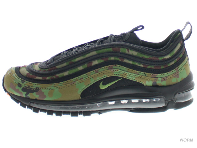 NIKE AIR MAX 97 PREMIUM QS aj2614-203 pale olive/black-safari ナイキ エア マックス 未使用品【中古】