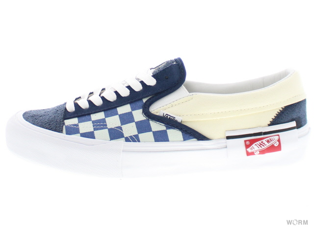 ba104d33db VANS SLIP-ON CAP LX Dr vn0a3tksubz dress blues federal blue vans  slip-ons-free article