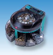 エンゲルス 電動小型硬貨選別機 コインソーター SCS-200