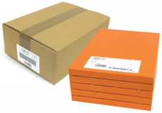 東洋印刷「カラーインクジェット用ラベル(LDW10MLX)」ナナワード 10面(70.0mm×52.0mm)