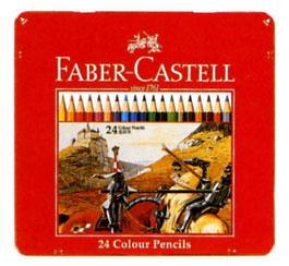 """Faber-Castell ' color pencil 24-color set (TFC-CP/24 C) """""""