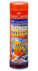 "Faber-Castell ' watercolor pencil round cans 36 color set ( TFC-115936 ) """