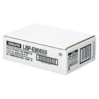コクヨ「カラーレーザー&コピー用 紙ラベル(リラベル)はかどりタイプ」(A4・18面角丸500枚)(LBP-E80650)