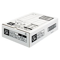 コクヨ「モノクロレーザー用 紙ラベル」(A4・24面・500枚)(LBP-A94)