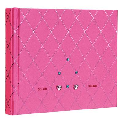 ナカバヤシ ラインストーン表紙 ギフトアルバム ミニサイズ 10冊入 ダイヤ ピンク アH-MB-181-2-P