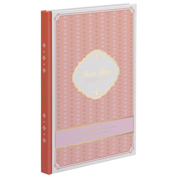ナカバヤシ 100年台紙カラー ブック式 フリーアルバム B5 ピンク 10冊入り アH-B5B-160-P