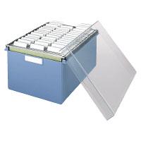 コクヨ「伝票ファイルボックス(A5本体)+(ハンキングフォルダー40枚)セット」(A5-DBS)