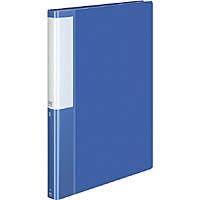 超激安特価 コクヨ クリヤーブック 固定式 POSITY 40ポケット ブルー P3ラ-L40NB A4S 安心の定価販売