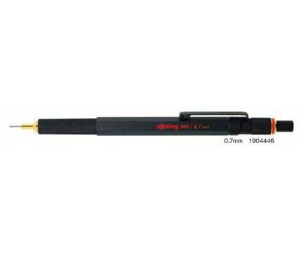 ロットリング 800シリーズ 0.7mmシャープ ブラック