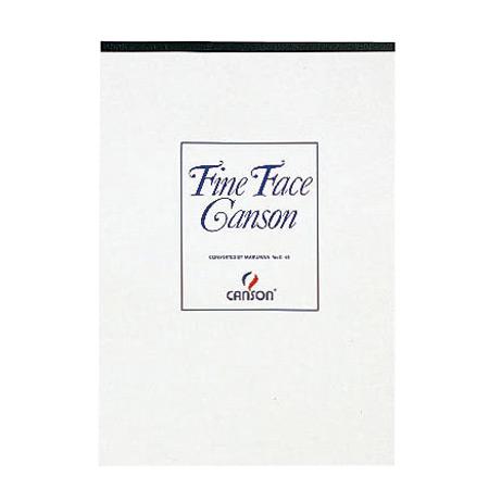 スケッチパッド キャンソンファインフェイス B4 386×268mm C45 中性紙 18枚×5冊