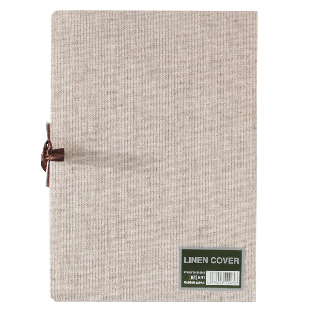 マルマン スケッチブック 麻表紙シリーズ B5 並口 126.5g/m2 34枚 S91 5冊入