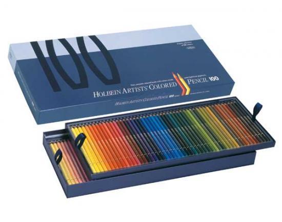 ホルベイン アーチスト色鉛筆 100色 紙函セット OP940
