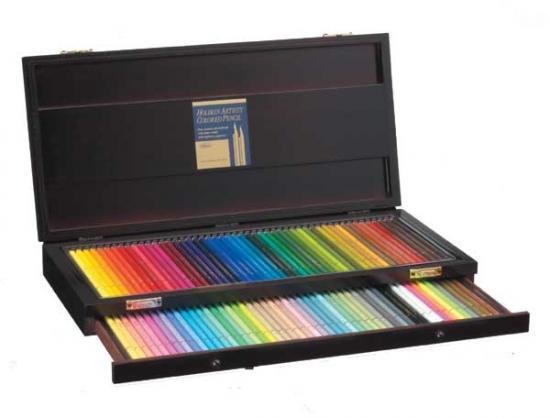 ホルベイン アーチスト色鉛筆 100色 木函セット OP941