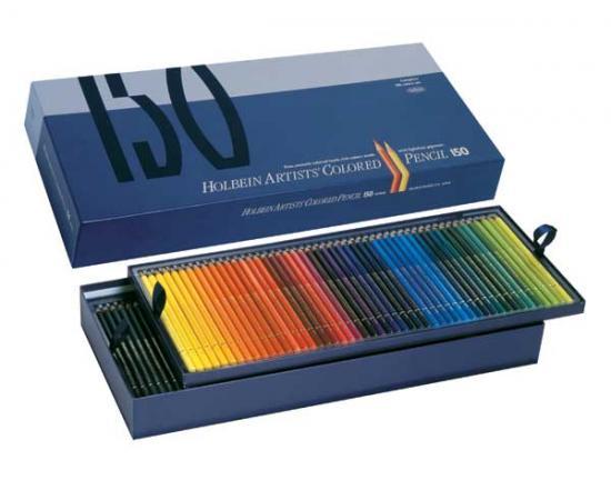 ホルベイン アーチスト色鉛筆 150色 紙函全色セット OP945