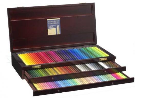 ホルベイン アーチスト色鉛筆 150色 木函全色セット OP946
